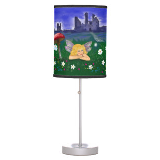 Alicia The fairy of Dunstanburgh Castle Table Lamps