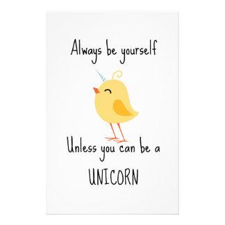 Alida the Unicorn Stationery