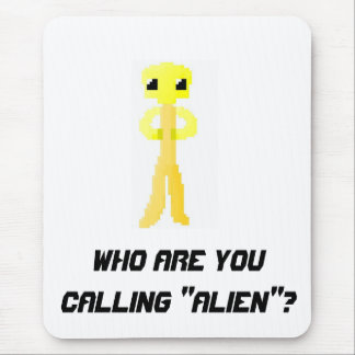 Alien 1 mouse pad