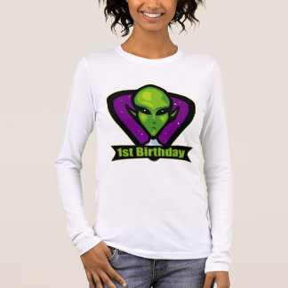 Alien 1st Birthday Long Sleeve T-Shirt