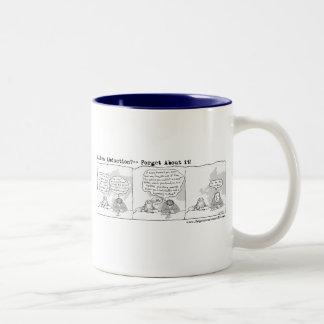 Alien Abduction Two-Tone Coffee Mug