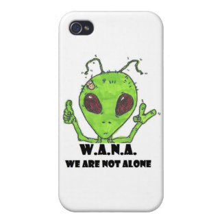 Alien Acronym Cover For iPhone 4