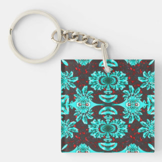Alien Affliction Double-Sided Square Acrylic Keychain