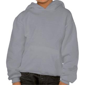 Alien And Laser Gun Hooded Sweatshirts
