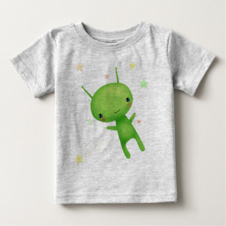 Alien and UFO Baby T-Shirt