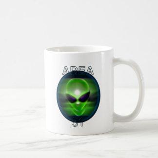 Alien Area 51 Coffee Mug