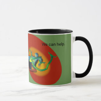 ALIEN ARTIFACT TECHNOLOGIES by Jetpackcorps Mug
