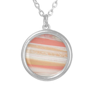 Alien Atmosphere Silver Plated Necklace