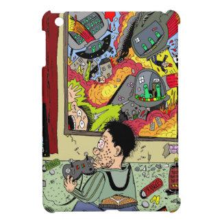 Alien Attacks Teen by Sam Backhouse. iPad Mini Covers