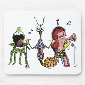 Alien Band Mouse Pad