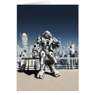 Alien Battle Droid - City Watch Card