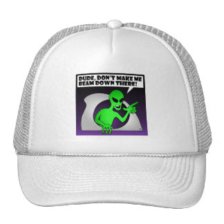 ALIEN BEAM-1 TRUCKER HAT