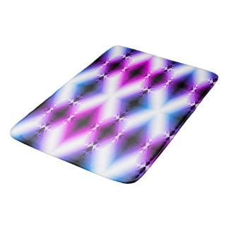 Alien Beam Bright Pink Purple Teleport Future Bath Mat