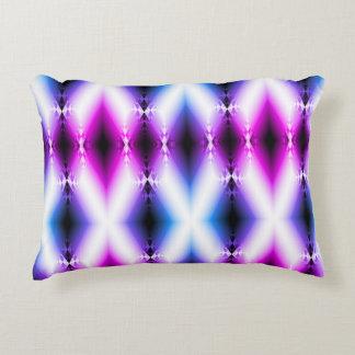 Alien Beam Bright Pink Purple Teleport Future Decorative Pillow