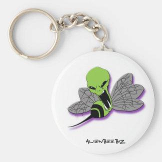 Alien Bee Keychain #1