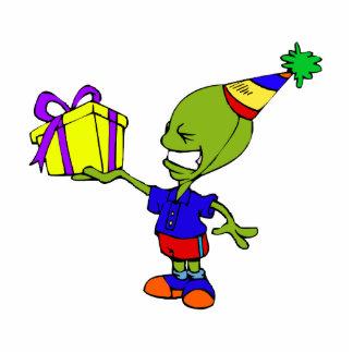 Alien Birthday Boy Photo Cutouts