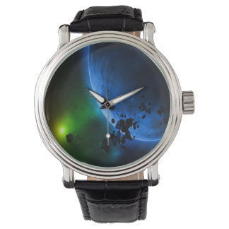 Alien Blue Planets & Asteroids Watch
