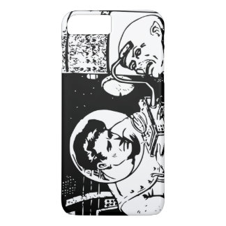 Alien Brain Reader Sci-fi Retro iPhone 7 Plus Case