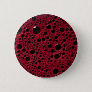 Alien bubbles bordeaux texture 2 inch round button