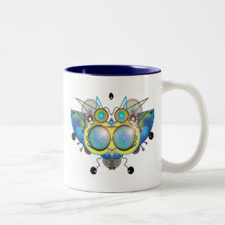 Alien Bug Two-Tone Coffee Mug