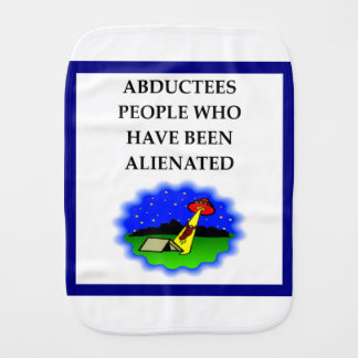 ALIEN BURP CLOTH