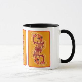 Alien card mug