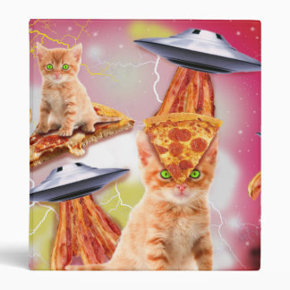 alien cats and the ufos 3 ring binder