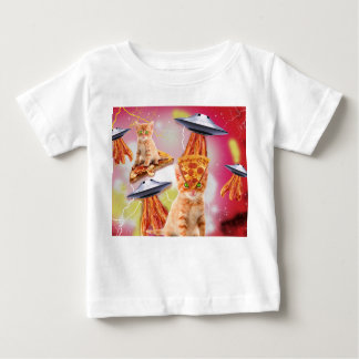 alien cats and the ufos baby T-Shirt