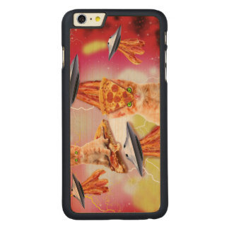 alien cats and the ufos carved® maple iPhone 6 plus case