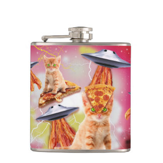 alien cats and the ufos flasks
