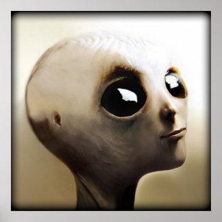 Alien Child Poster