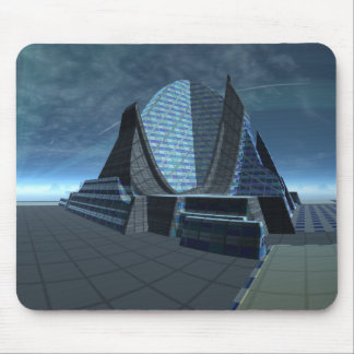Alien City Gingezel Performing Arts Center Mouse Pad