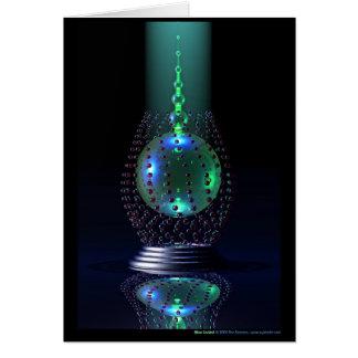 Alien Cocktail Card