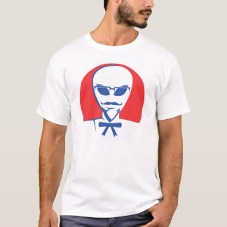 Alien Colonel Book Cover T-Shirt