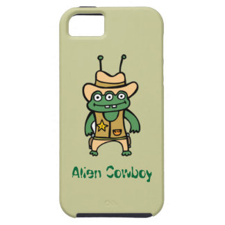 Alien Cowboy Case For The iPhone 5