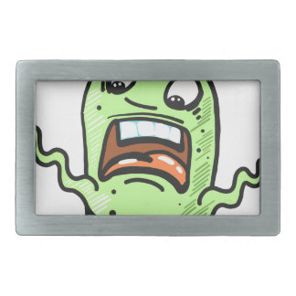 Alien Creature Sketch Belt Buckles
