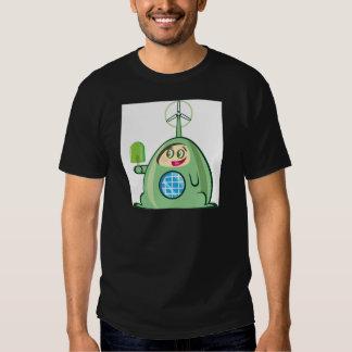 Alien Creature with Ice Cream T-shirt