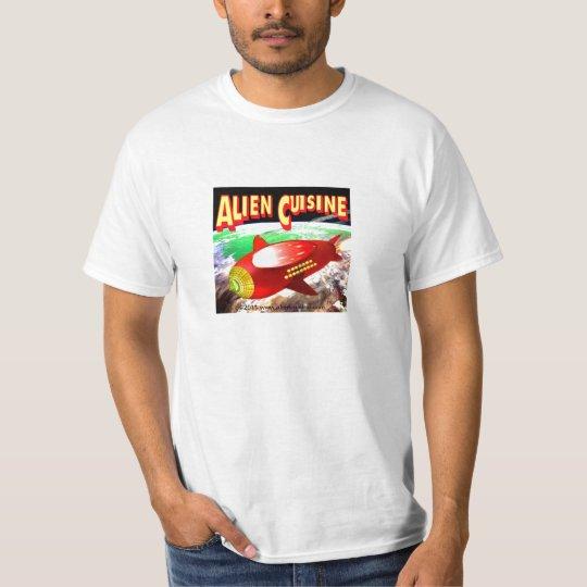 Alien Cuisine Rocketship T-Shirt