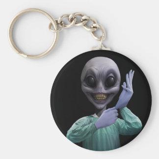 Alien Doc Key Chain