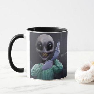 Alien Doc Mug