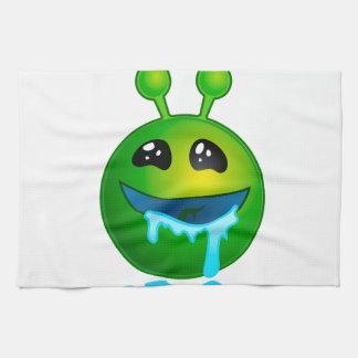 alien drooling towels