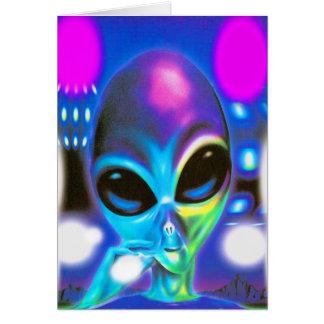Alien Encounter Card