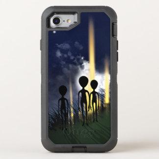 Alien Encounter OtterBox Defender iPhone 7 Case