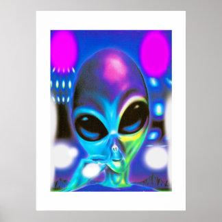 Alien Encounter Poster