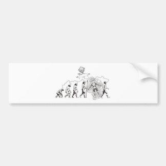 Alien Evolution.jpg Bumper Sticker