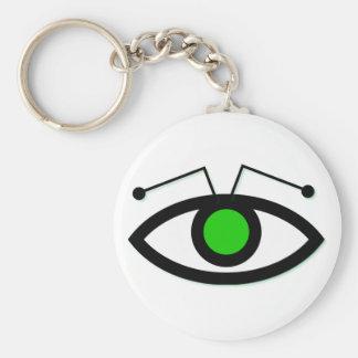 Alien Eye Keychain