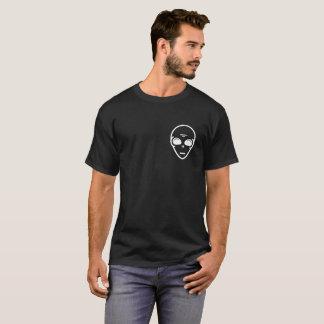 Alien Face is in Pocket funny Alien Shirt