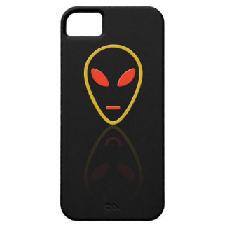 Alien face reflection iPhone 5 covers