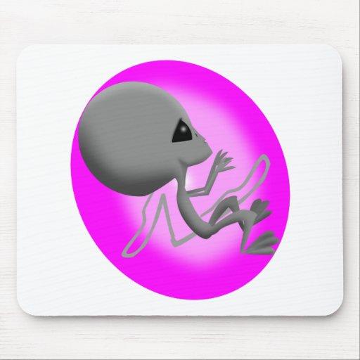 Alien Fetus Mouse Pad