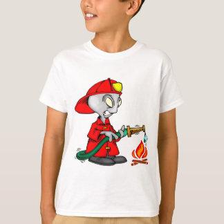 Alien Firefighter T-Shirt